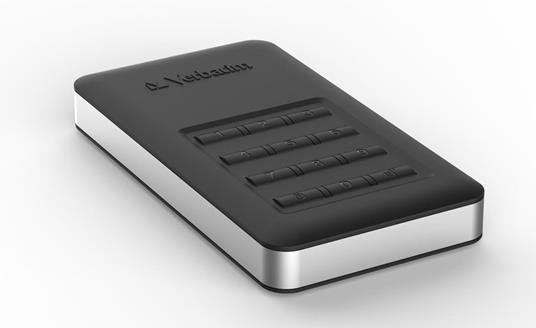 Verbatim Disco rigido portatile Store 'n' Go® Secure con tastierino di accesso da 1TB