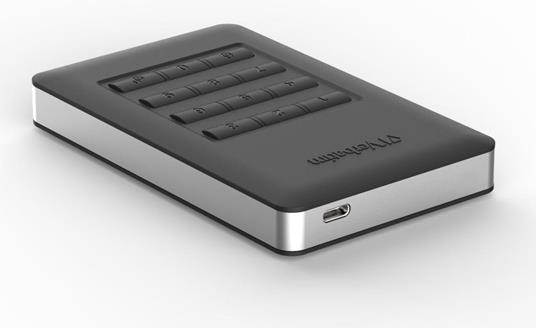 Verbatim Disco rigido portatile Store 'n' Go® Secure con tastierino di accesso da 1TB - 2