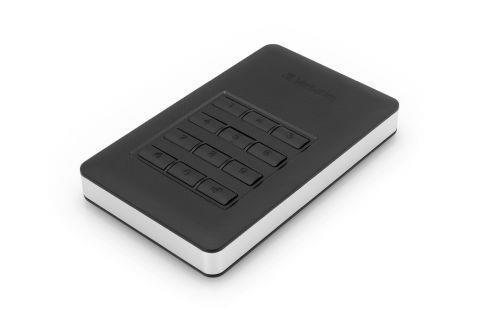 Verbatim Disco rigido portatile Store 'n' Go® Secure con tastierino di accesso da 2TB - 4