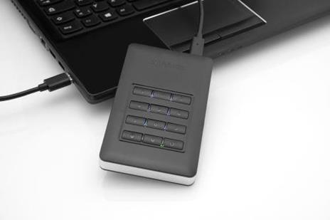 Verbatim Disco rigido portatile Store 'n' Go® Secure con tastierino di accesso da 2TB - 7