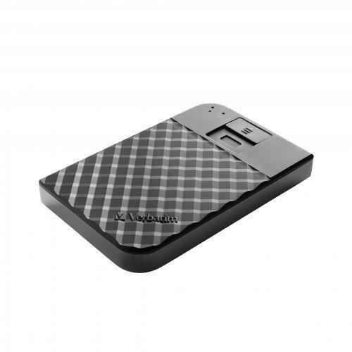 Verbatim Disco Rigido Portatile Fingerprint Secure da 1 TB - 3