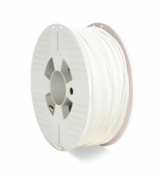 Verbatim 55058 materiale di stampa 3D Polietilene Tereftalato Glicole (PETG) Bianco 1 kg
