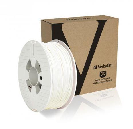 Verbatim 55058 materiale di stampa 3D Polietilene Tereftalato Glicole (PETG) Bianco 1 kg - 2