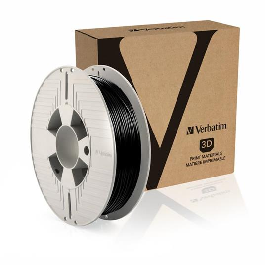 Verbatim 55511 materiale di stampa 3D Elastomero Termoplastico (TPE) Nero 500 g - 2