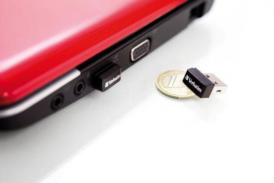 Verbatim Store 'n' Stay NANO - Memoria USB da 16 GB - Nero - 5