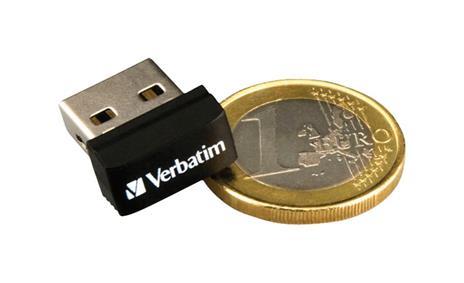 Verbatim Store 'n' Stay NANO - Memoria USB da 16 GB - Nero - 7