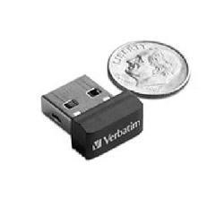 Verbatim Store 'n' Stay NANO - Memoria USB da 16 GB - Nero - 11