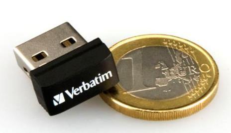 Verbatim Store 'n' Stay NANO - Memoria USB da 32 GB - Nero - 5