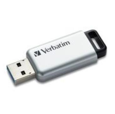 Verbatim Secure Pro - Memoria USB 3.0 da 16 GB - Argento