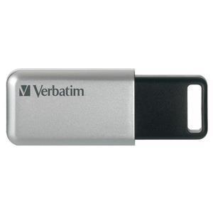 Verbatim Secure Pro - Memoria USB 3.0 da 64 GB - Argento - 3