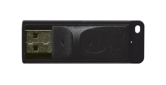 Verbatim Slider - Memoria USB da 16 GB - Nero - 12