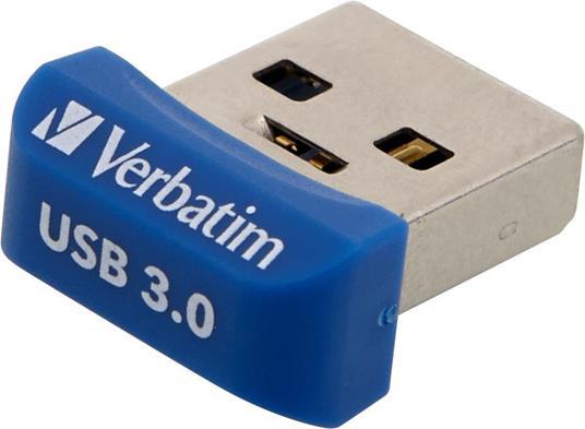 Verbatim Store 'n' Stay NANO - Memoria USB 3.0 da 32 GB - Blu - 10