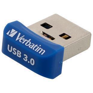 Verbatim Store 'n' Stay NANO - Memoria USB 3.0 da 32 GB - Blu