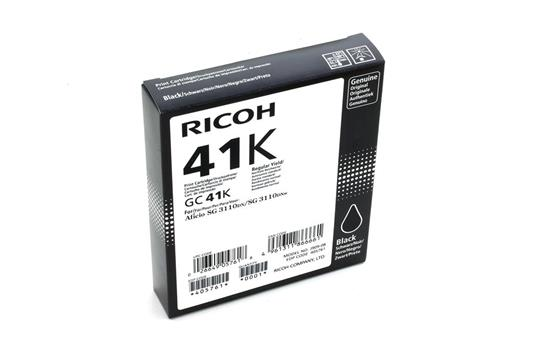 Cartuccia Ricoh GC41K Nero