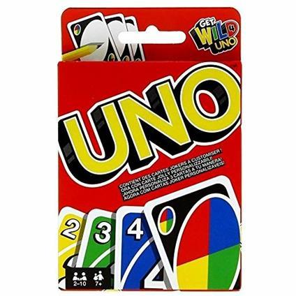 UNO. Mattel Games. Gioco di carte