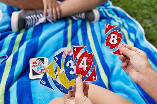 Mattel Games UNO H2O Gioco di Carte Impermeabile, Regalo per Bambini 7+ Anni. Mattel (P1703) - 7