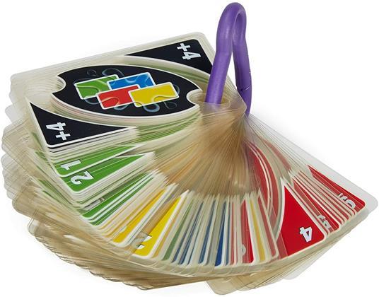 Mattel Games UNO H2O Gioco di Carte Impermeabile, Regalo per Bambini 7+ Anni. Mattel (P1703) - 8