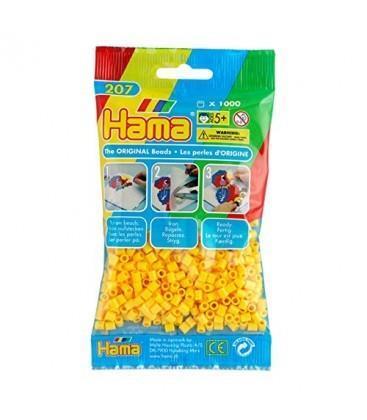 Bustina 1000 perline giallo