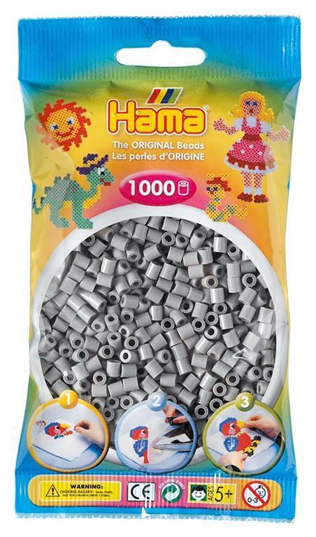 Bustina 1000 perline grigio - 3