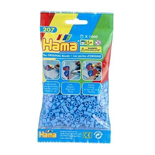 Hama bustina 1000 perline azzurro pastello