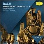 Concerti brandeburghesi n.1, n.2, n.3 - CD Audio di Johann Sebastian Bach,English Concert,Trevor Pinnock