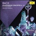 Concerti brandeburghesi n.4, n.5, n.6 - CD Audio di Johann Sebastian Bach,English Concert,Trevor Pinnock