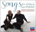 21 Canzoni per viola e pianoforte (Trascrizioni per viola e pianoforte) - CD Audio di Andrea Rebaudengo,Danusha Waskiewicz