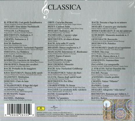 Classica. The Platinum Collection - CD Audio - 2