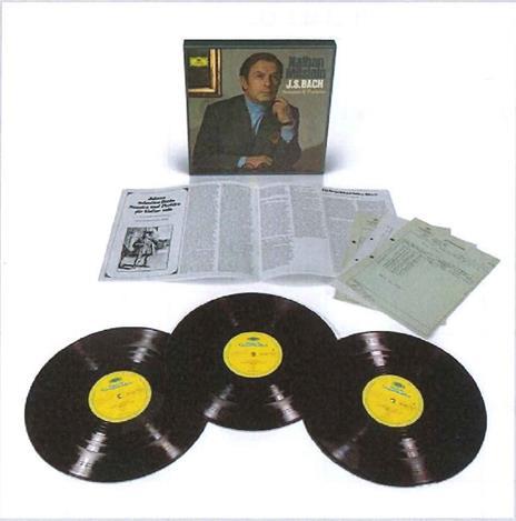 Sonate e partite per violino (Limited  Vinyl Edition) - Vinile LP di Johann Sebastian Bach,Nathan Milstein - 2