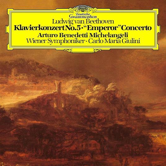 Concerto per pianoforte n.5 - Vinile LP di Ludwig van Beethoven,Arturo Benedetti Michelangeli