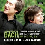 Sonatas BWV1014, BWV1015, BWV1016