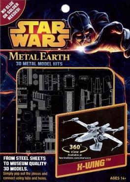 Star Wars X-Wing Star Fighter Metal Earth 3D Model Kit MMS257