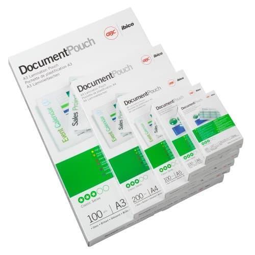 GBC Pouch per carta di credito 59x83 mm 2x125 mic lucide (100) - 2