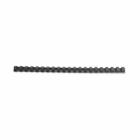 GBC Anelli plastici CombBind neri 14 mm (100) - 4