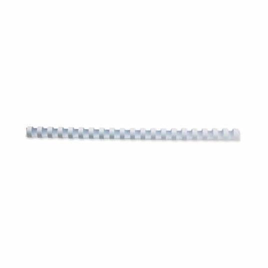 GBC Anelli plastici CombBind bianchi 6 mm (100) - 4