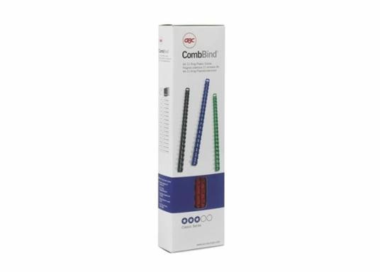 GBC Anelli plastici CombBind bianchi 6 mm (100) - 6