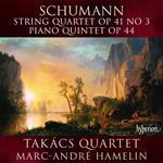 Quartetto per archi op.41 n.3 - Quintetto con pianoforte op.44