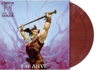 I'm Alive (Red Rust Marbled Coloured Vinyl) - Vinile LP di Cirith Ungol - 2