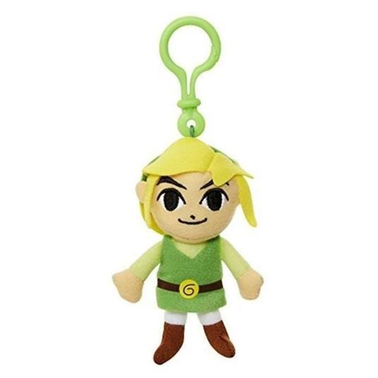 Nintendo. Portachiavi Peluche Link. Jakks (29580-I)