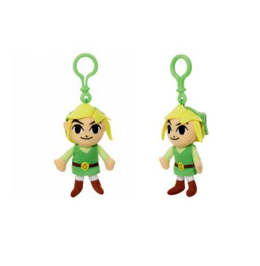 Nintendo. Portachiavi Peluche Link. Jakks (29580-I) - 2