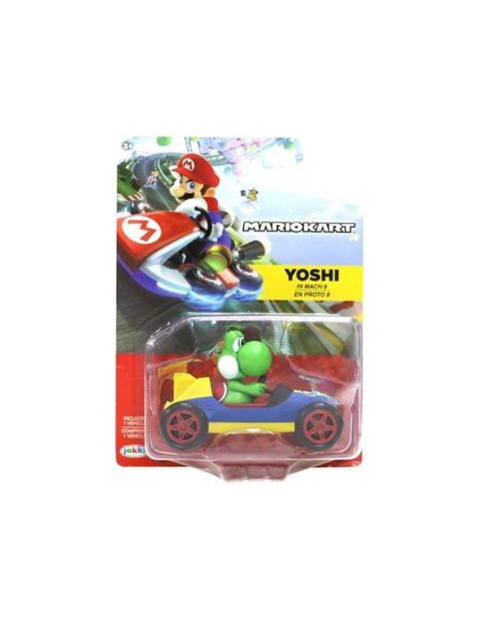 Mario Kart Veicolo con Personaggio Yoski in mach 8