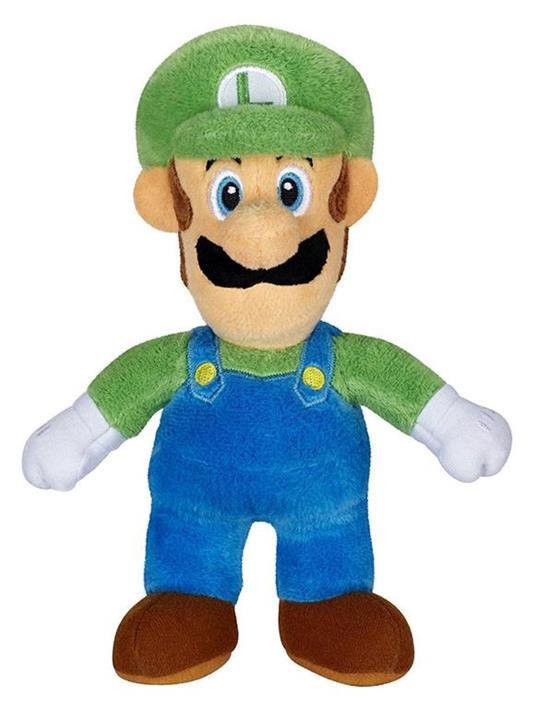 World of Nintendo Plush Figure Luigi 18 cm - 2