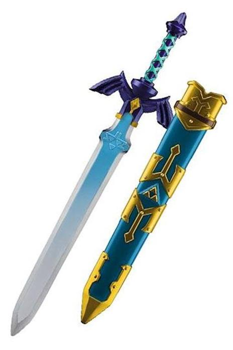 Legend Of Zelda Skyward Sword Replica Master Spada Link 66 Cm - 2