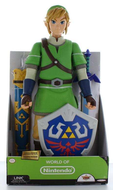 The Legend of Zelda Skyward Sword Deluxe Big Figs Action Figure Link 50 cm - 3