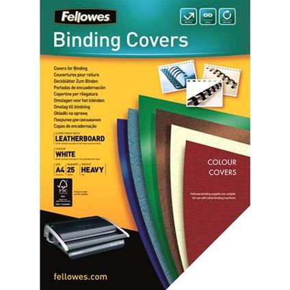 Fellowes 5373602 cartellina A4 Carta Bianco 25 pezzo(i)
