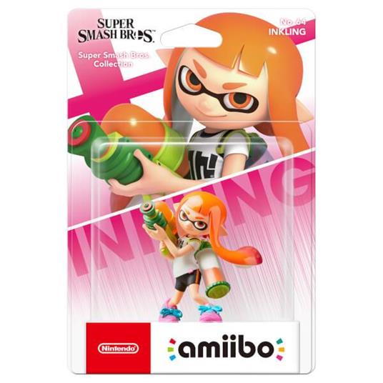 Nintendo Inkling No.64 amiibo - 2