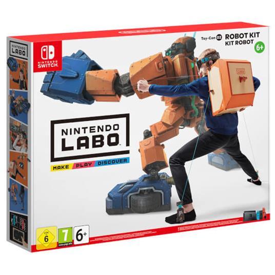 Nintendo Labo Toy-Con 02: Robot Kit, Switch Set
