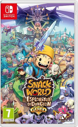 Snack World: Esploratori di Dungeon Gold - SWITCH