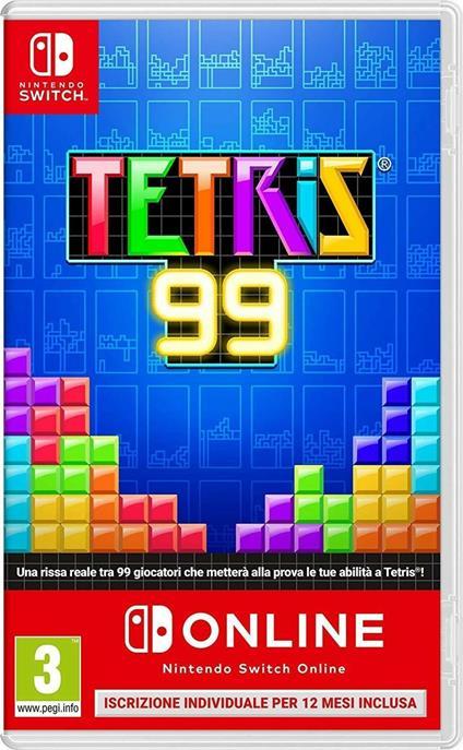 Tetris 99 + Switch on Line per 12 mesi - Switch