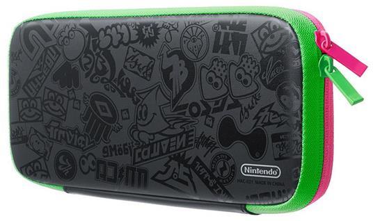 Nintendo Splatoon 2 Edition Cover Nero, Verde, Rosa - 3
